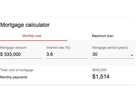 estimate house payment get a monthly payment estimate with google s mortgage