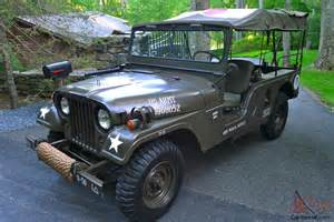 1955 Willys Jeep 1955 Willys M170 Frontline Ambulance Jeep