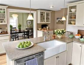 Kitchen And Dining Accessories Open Kitchen Dining Room Color Ideas House Decor Picture