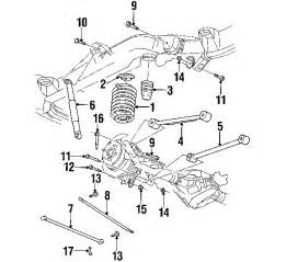 Gmc Envoy Exhaust System Diagram Parts 174 Gmc Envoy Suspension Components Oem Parts