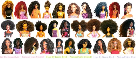 hair style doll for black the united customized dolls with