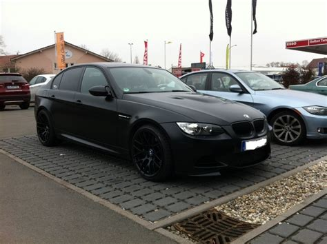 matte scheinwerfer e90 m3 fl with oem mat black wheels