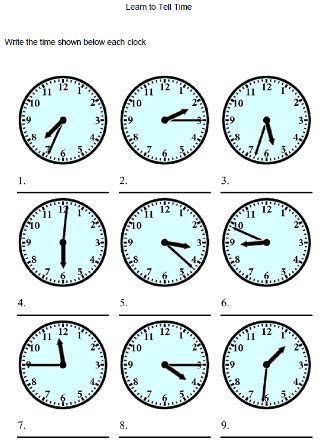 printable clock for learning to tell time best photos of learning clock printable printable