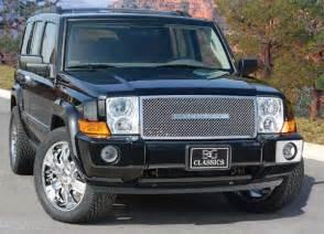2007 Jeep Commander Accessories Jeep Commander Heavy Mesh Grille By E G Classics 2006