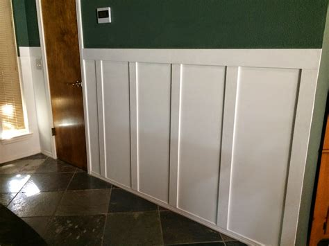 Raised Panel Wainscoting Diy by Diy Raised Panel Wainscoting Design Home Decors Simple