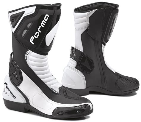 motorcycle boots outlet forma freccia boots motorcycle racing black white forma