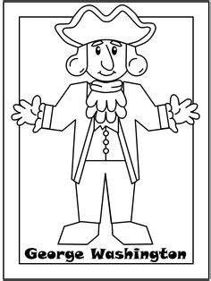 george washington coloring page for kindergarten 1000 images about american holidays president s day
