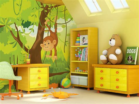 wallpaper childrens room photo wallpapers for every room