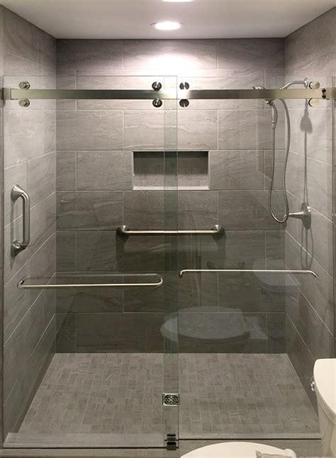 C R Laurence Frameless Bypass Sliding Shower Door System Laurence Shower Doors