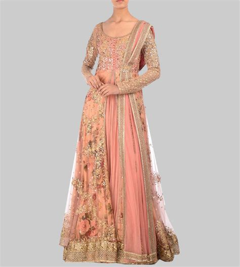 What Colour Is Orange by 20 Indian Engagement Dresses That Will Steal Your Heart