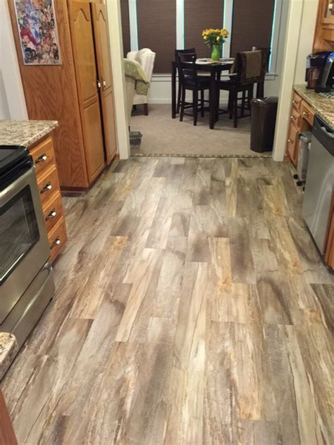 Snap Together Vinyl Plank Flooring What Brand And Color Is This Are They Snap Together Planks Or Sheets