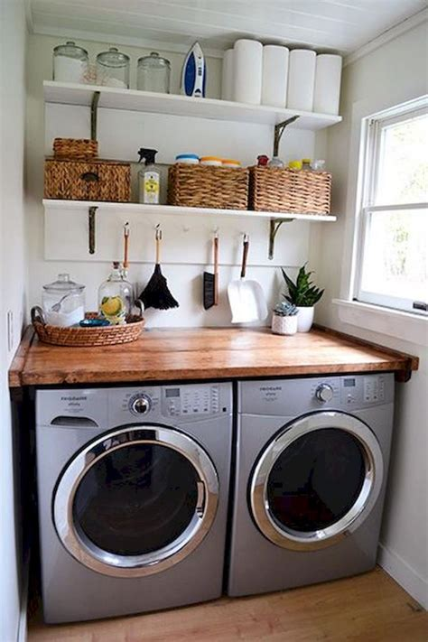 45 farmhouse rustic laundry room decor ideas