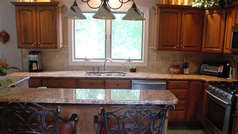 Reface Countertops by Cherry Reface Granite Countertops And Tile Backsplash