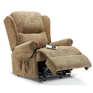 Of Care Recliner by Malvern Electric Lift Rise Care Recliner Fabric From