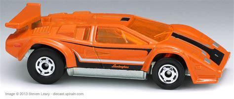 Hotwheels Lamborghini Series Lamborghini Countach lamborghini