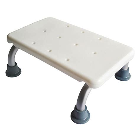 shower step stool what types of steps are