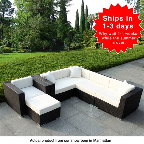 6 outdoor furniture set manhattan home design