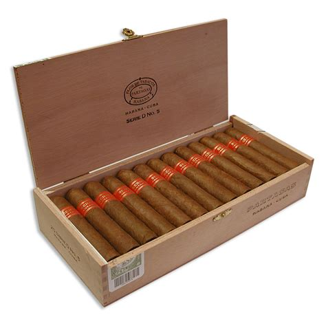 Partagas Serie D No 5 Box 25 Cerutu Kuba Cuban Cigars Buy Partagas Cuban Cigars From Cigars Unlimited Sw