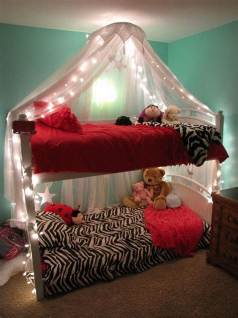 Canopy Bunk Bed with Lighted Bed Canopy Frozen Bedroom Pinterest Bed Canopies Canopies And Beds