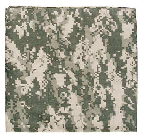 Acu Camo by Army Acu Digital Camouflage Bandana 27
