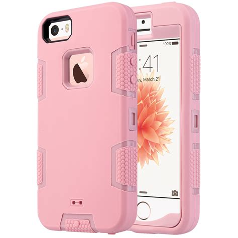 Anti Gravitasi Iphone 5 Iphone 5s Iphone Se hybrid rubber shockproof rugged matte cover for