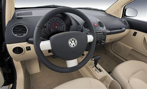 new volkswagen beetle interior car and driver