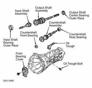 repair diagrams for 2000 ford ranger engine transmission