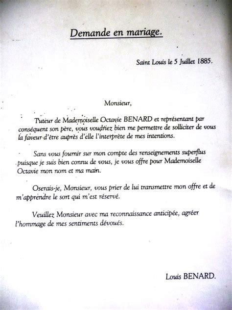 Lettre Demande De Fiancaille Originale Mus 233 Es