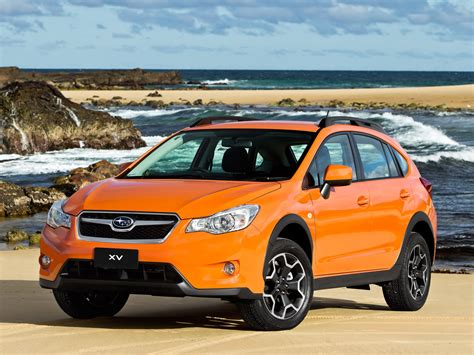 Orange Ride Of The Hour Subaru