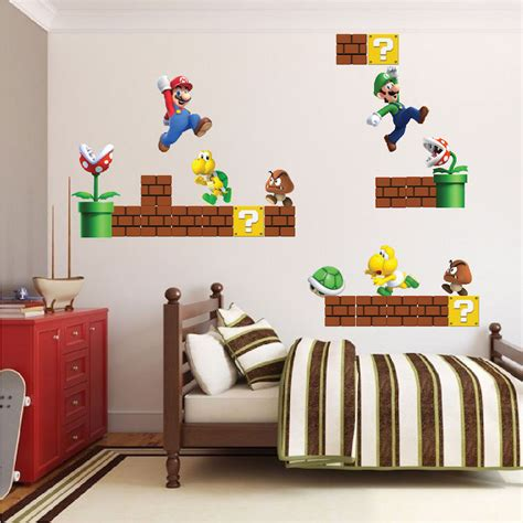 kids decals for bedroom walls wall decal inspiring nintendo wall decals for kids room