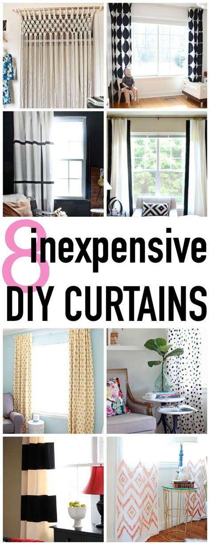 Home Design Hacks - decor hacks 8 stylish and easy diy curtain
