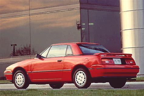 how cars engines work 1993 mercury capri regenerative braking 1990 94 mercury capri consumer guide auto