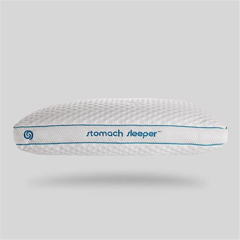 position stomach sleeper performance pillow bedgear