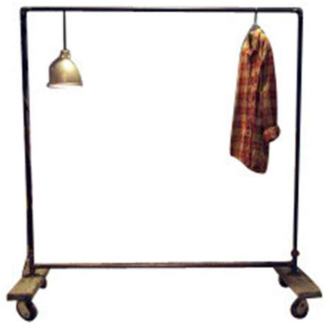 What Does A Rack In Slang by Large Plain Industrial Pipe Garment Rack Industrial