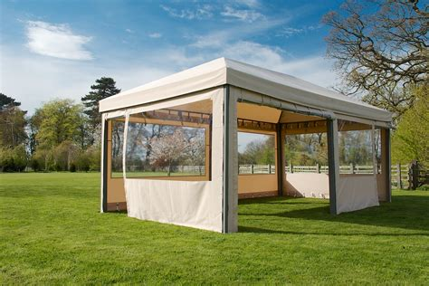 Canvas Garden Gazebo Permanent Gazebos Uk Innovation Pixelmari