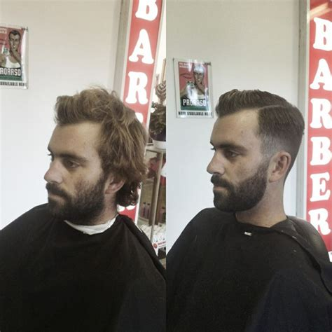 before and after thinning mens haircut 87 best images about haircuts by jack the snipper on