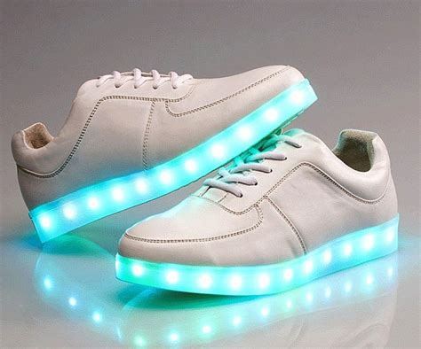 Led Light Sneakers by Led Light Up Led Shoes Sneakers White Trainers Air