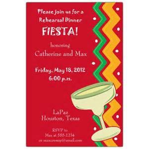 fiesta fiesta rehearsal dinner invitations paperstyle