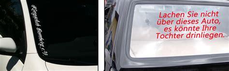 Autoaufkleber Selber Gestalten Heckscheibe by Autoaufkleber Text Selber Gestalten Werbung Heckscheiben