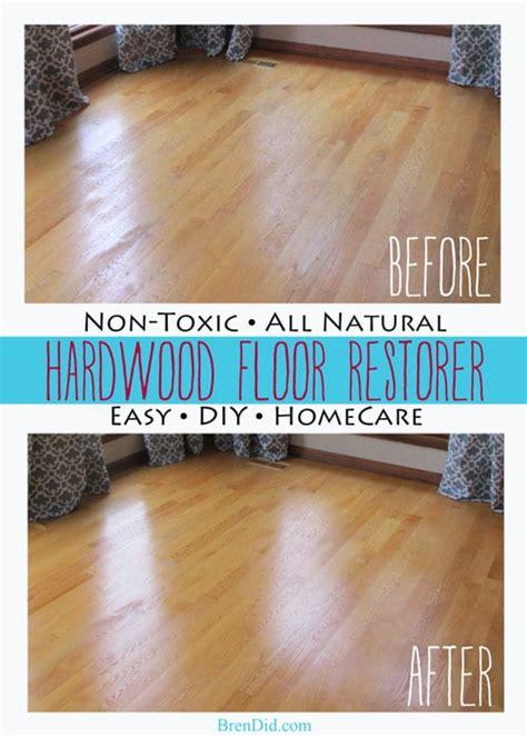 brendid all non toxic hardwood floor restorer