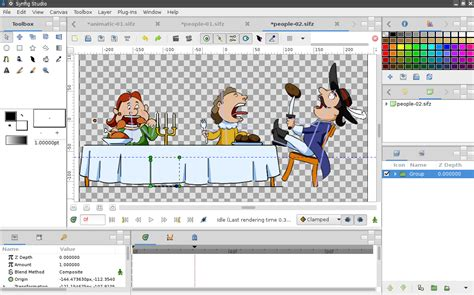 2d sketch software synfig studio 1 0 overview