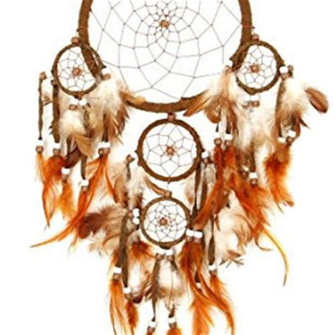 Lolitattoo Temporary Brown Feather best large dreamcatchers products on wanelo