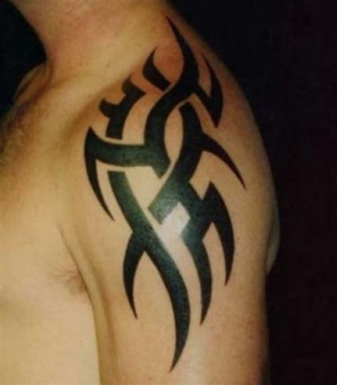 small tribal shoulder tattoos tribal shoulder tattoos designs ideas and meaning