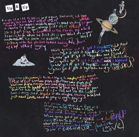 testo fix you up up lyrics coldplay a of dreams
