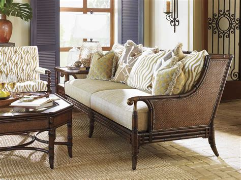 tommy bahama living room tommy bahama landara las palmas living room set to166633set