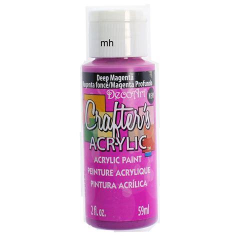 Acrylic Colour decoart crafters acrylic paint 59ml deco acrylic