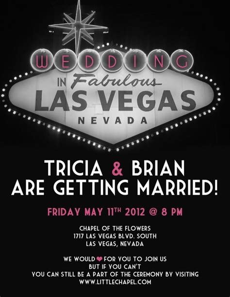 wedding invitations vegas vegas wedding invitation wedding ideas vegas