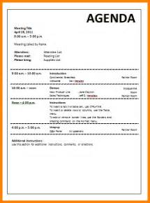 agenda template word doc 444575 agenda template for word agendas office
