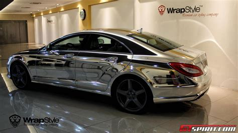 Mercedes Chrome by Chrome Mercedes Cls By Wrapstyle