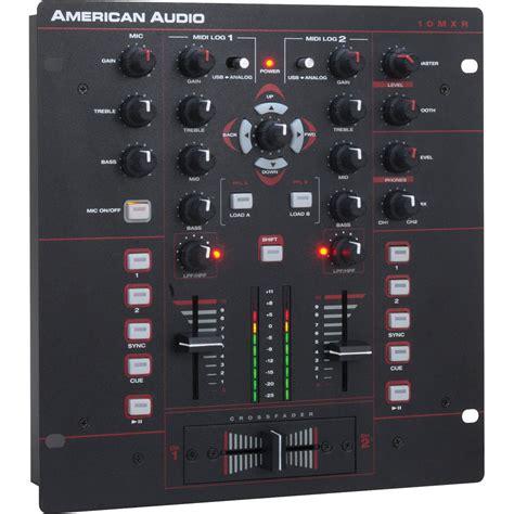 Audio Mixer American Standard american audio 10 quot mxr 2 channel midilog analog midi 10 mxr